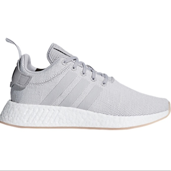 Light Grey Adidas Originals NMD R2 NEW WITH TAGS NWT